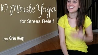 Minute Yoga For Stress Relief