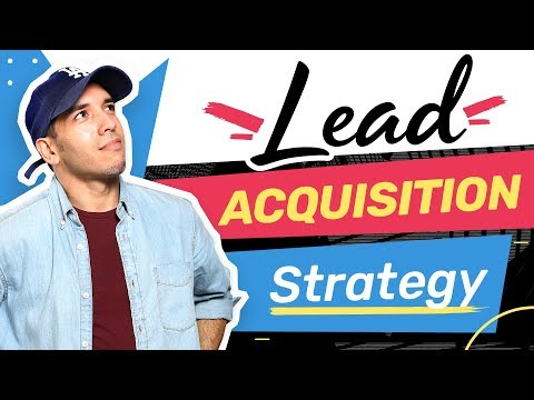 Lead Acquisition Strategy for Consultants (B2B Online Marketing)