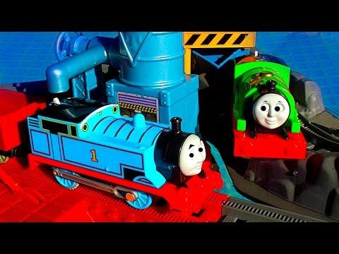 Thomas Tank & Percy Pool Tracks How To Trackmaster 2 Pool Toy Train Fun