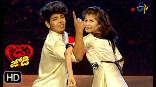 Ritik and Tanvi Performance | Dhee Jodi | 13th February 2019 | ETV Telugu