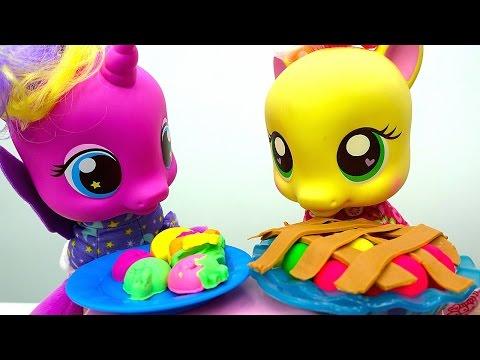 День Рождения у Пони: готовим пирог из плейдо.из YouTube · Длительность: 5 мин25 с