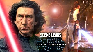 The Rise Of Skywalker Scene Leaks! WARNING (Star Wars Episode 9 Spoilers)