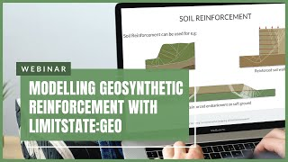 Modelling Geosynthetic Reinforcement with LimitState:GEO screenshot 5