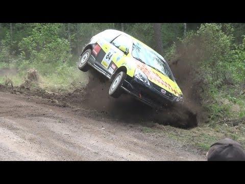 Uusikaupunki Ralli 2016 (crash & Action)