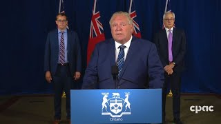 Ontario Premier Doug Ford Provides Covid-19 Update – July 3, 2020