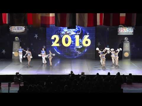 Guangzhou Huadu Xinhua Middle School (China) [2016 Open Coed Pom Finals]
