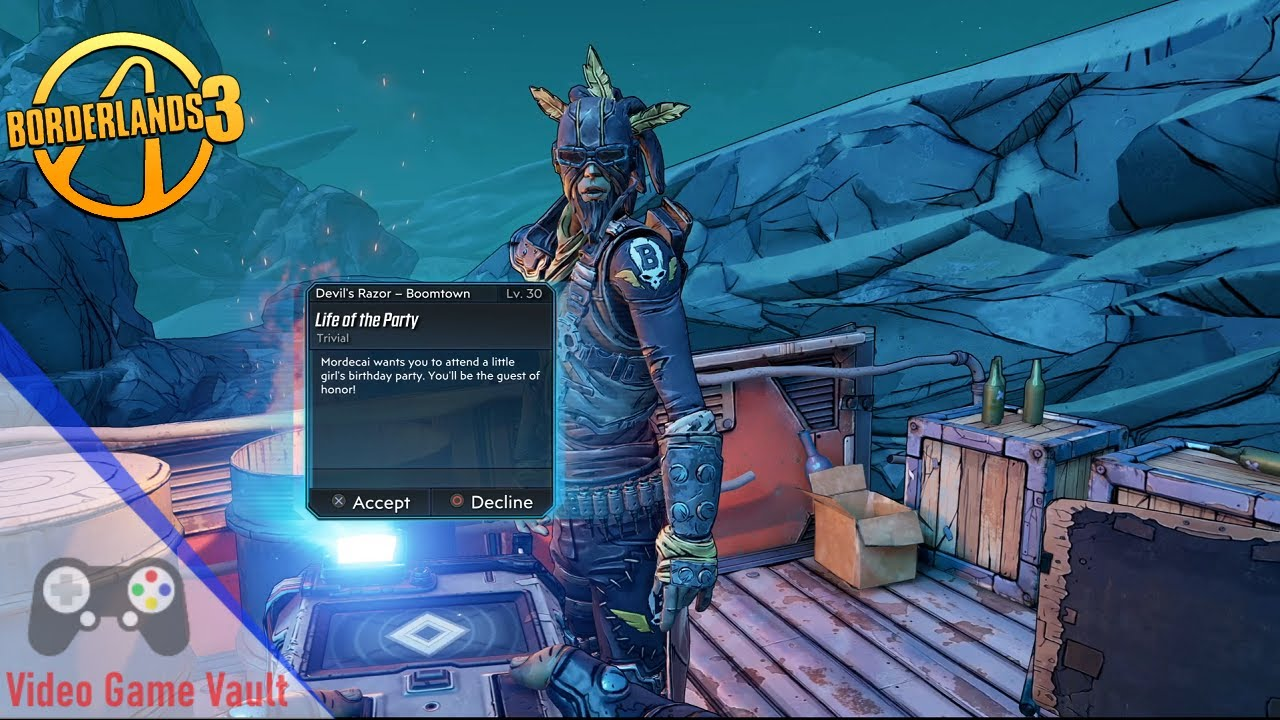 Borderlands 3 Life Of The Party Side Mission Ps4 Pro 1080hd No Commentary Youtube Here's the side mission life of the party guide in borderlands 3. youtube