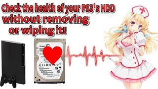PS3 Tutorial - check the health of your HDD without removing or wiping it! + Lots of PROTIPS :)