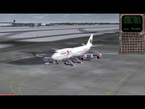 Boeing 747-400ER Moscow (UUEE) to Frankfurt (EDDF) P3D v3.4