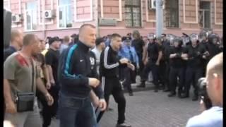 Беспорядки в Киеве, 18 мая(Журналисты Телекомпании