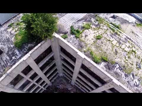 Mirro Factory in Manitowoc WI - Flyover Test with 3DR Solo Drone & GoPro 3+ Black