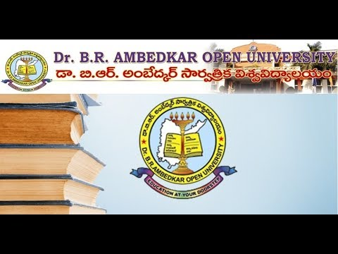 Dr B R Ambedkar Open University I P.G  1st Year I English -