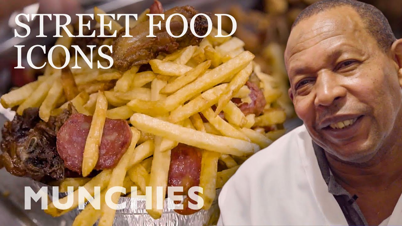 The French Fry King Of Rio de Janeiro   Street Food Icons