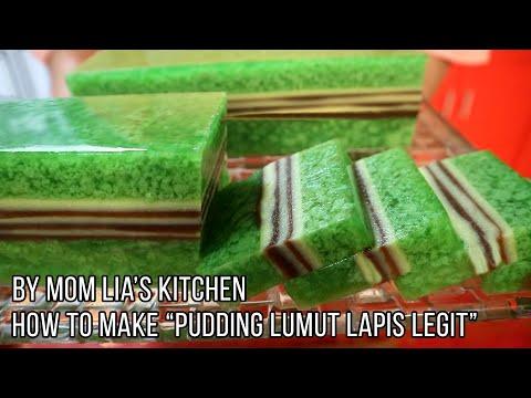 Resep Puding Lumut...