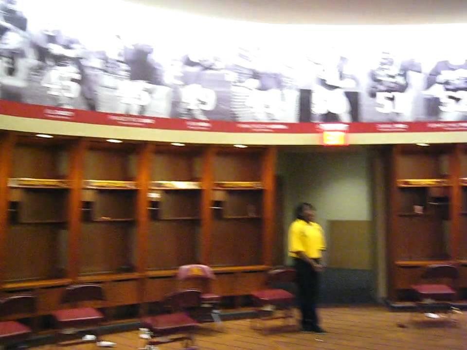 TCF Bank Stadium - Locker Room Walkthrough - University of ...