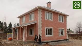 Строительство 2-этажного дома 140 м2 / Строительство домов из газобетона под ключ / СК Апрель