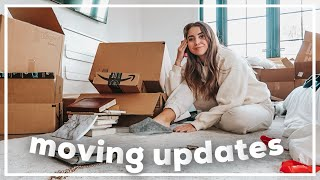 MOVING VLOG: 3 weeks of new house updates!