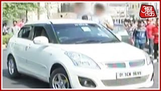 Auto Driver Injured In By Car Stuntmen In Connaught Place, Delhi