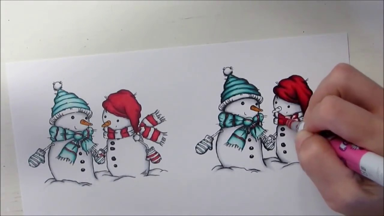coloring lili of the valley snowman youtube