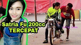 Wanita Cantik ini Kalahkan Joki Laki2 di Event Drag Bike Higam DJ TEAM Seri 3 Ponorogo