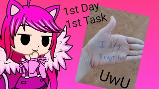 My 1st Day Of The Pink Whale Challenge  (1st day) | Gacha Club | Jasmine Sweet girl