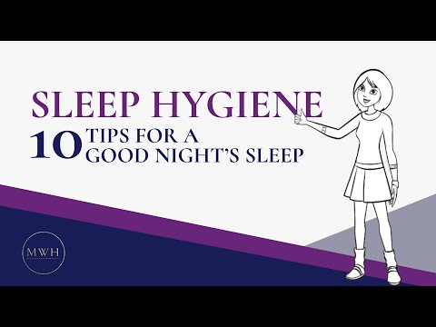 Sleep Hygiene: 10 Effective Tips for Getting a Good Night's Sleep