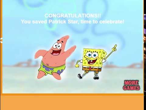 Spongebob Saving Patrick - Gameplay