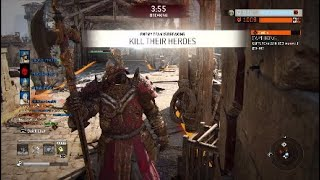 For Honor Anti Gank Montage Lawbringer Raider Gladiator Aramusha Warlord Compilation