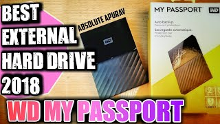 Best Hard Drive 2018: WD My Passport External Hard drive Complete Review in hindi [ Best on amazon]