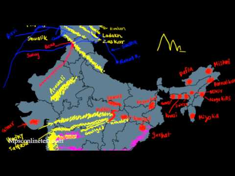 Physical Geography of India (मराठी)