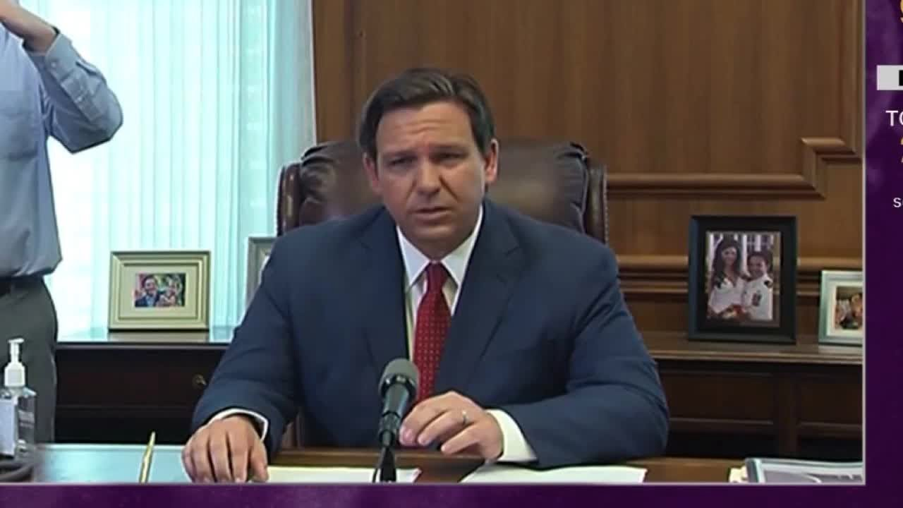DeSantis cites Trump's changed 'demeanor' in issuing stay-at-home ...