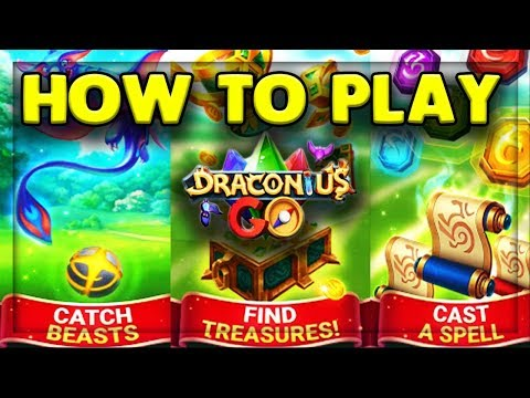 HOW TO PLAY DRACONIUS GO! - NEW AR MOBILE GAME