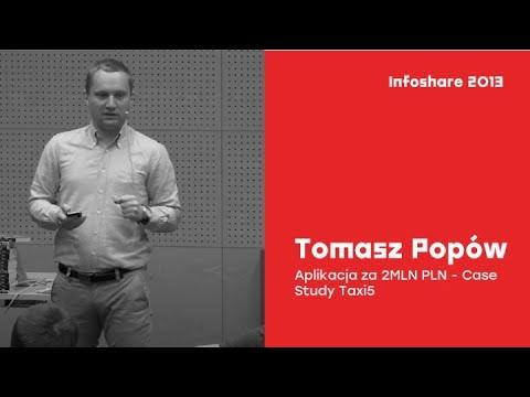 infoShare 2013: Tomasz Popów - Aplikacja za 2MLN PLN - Case Study Taxi5.