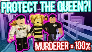 PROTECT THE QUEEN!!! (Roblox Murder Mystery 2)
