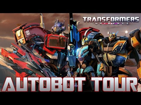 Transformers Universe - Autobot Tour (Hangar, High Grand, ALL Characters Bios & Voices)