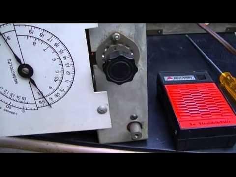 R-100/URR Receiver U.S. MILITARY 3 Band ShortWave Radio Moral Booster  Set 1945