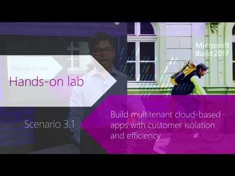 Build 2017 Evolving SQL workloads from software to SaaS  Data for devs immersion