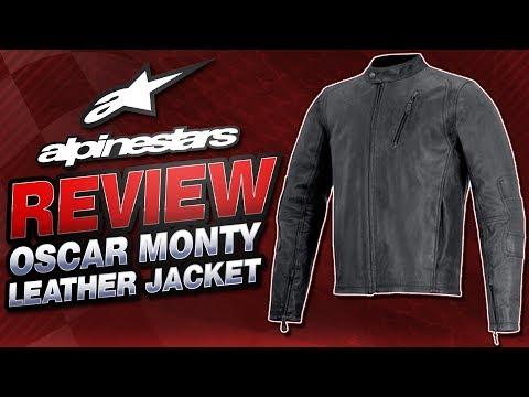 Alpinestars Oscar Monty Leather Jacket Review from Sportbiketrackgear.com
