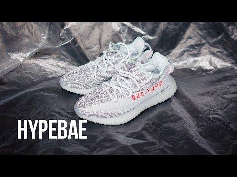 Shopping \u003e yeezy v2 blue tint laces