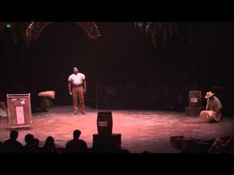 Philip Boykin performs