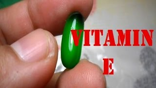 How to maintain Vitamin E in our body