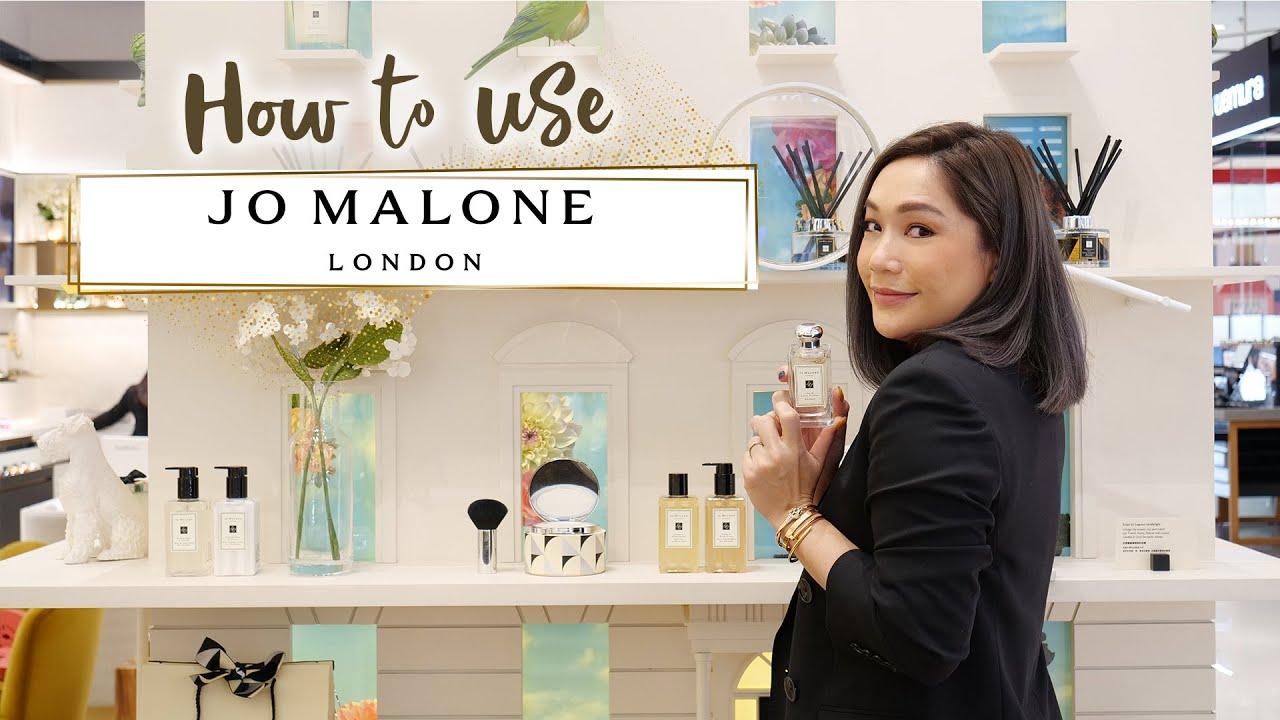 Brands to know #4 JO MALONE LONDON วิธีใช้ให้ติดทนนาน   DAILYCHERIE