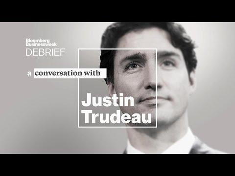 A Conversation With Justin Trudeau   Businessweek Debrief