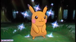 Shiny Pikachu!! (Live Reaction) After 4,047 RE's! Pokemon X