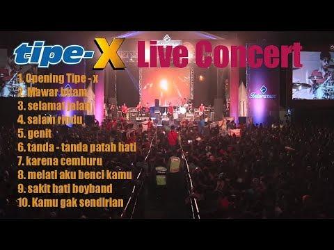 10 Lagu Terbaik  Live Band TIPE X 2018 Yang Bikin Baper