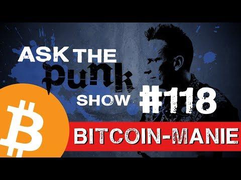 Kryptowährungsblase | Verkauf von Bitcoins | Kryptoportfolio | #ASKTHEPUNK 118