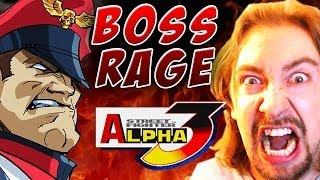 BOSS RAGE! M. BISON (Street Fighter Alpha 3)