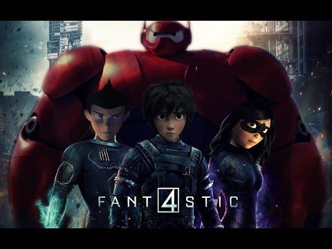 Fantastic Four CGI Crossover