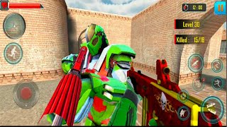 Fps Robot Shooting Games – Counter Terrorist Game - Android GamePlay -  FPS Games Android#13