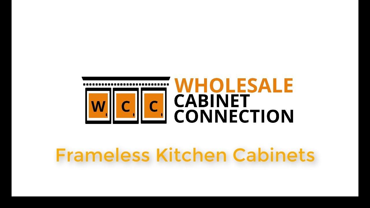 frameless kitchen cabinets youtube